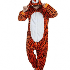 New Tiger with front zip